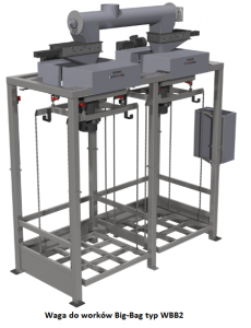 Scales for Big-Bag bags type WBB2