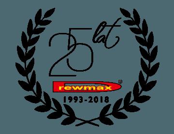 logo drewmax 25 lecie firmy